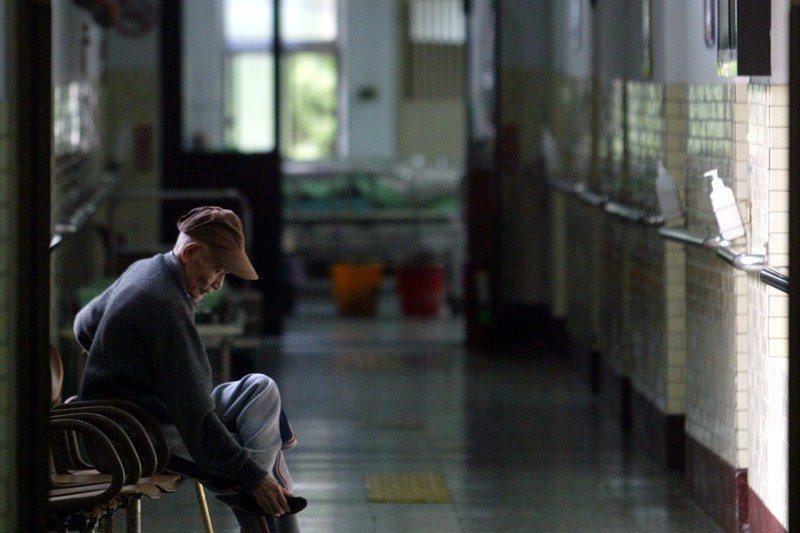 攝於樂生療養院,2005年。 圖/聯合報系資料照