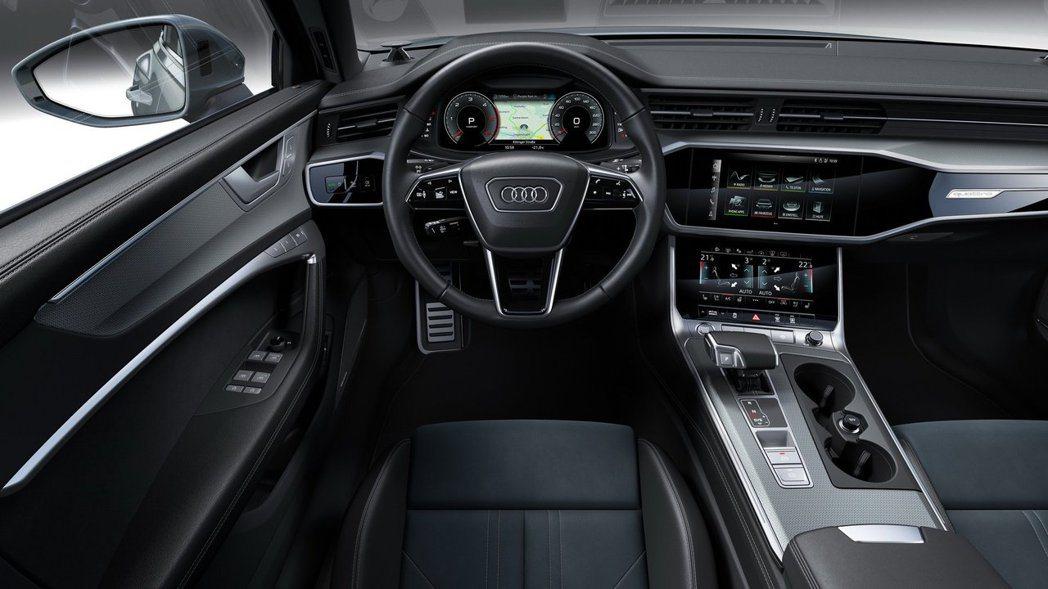 中控雙層觸控螢幕搭配虛擬座艙,已經是Audi新世代的內裝布局。 摘自Audi