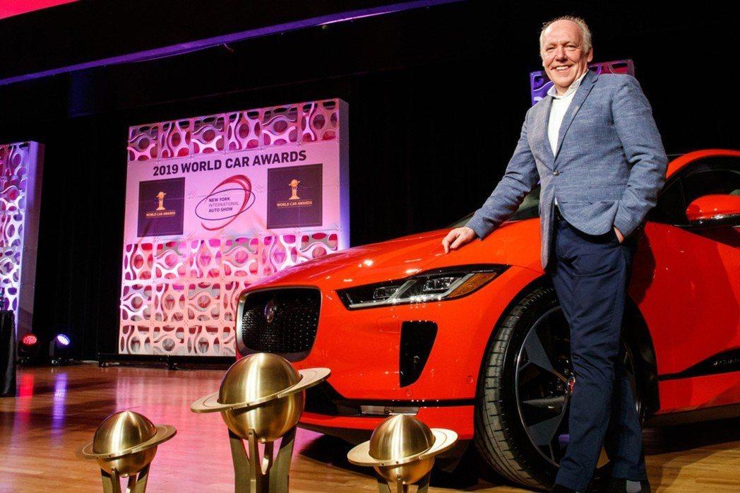 Jaguar I-Pace獲得了2019世界年度風雲車大獎。 摘自Jaguar