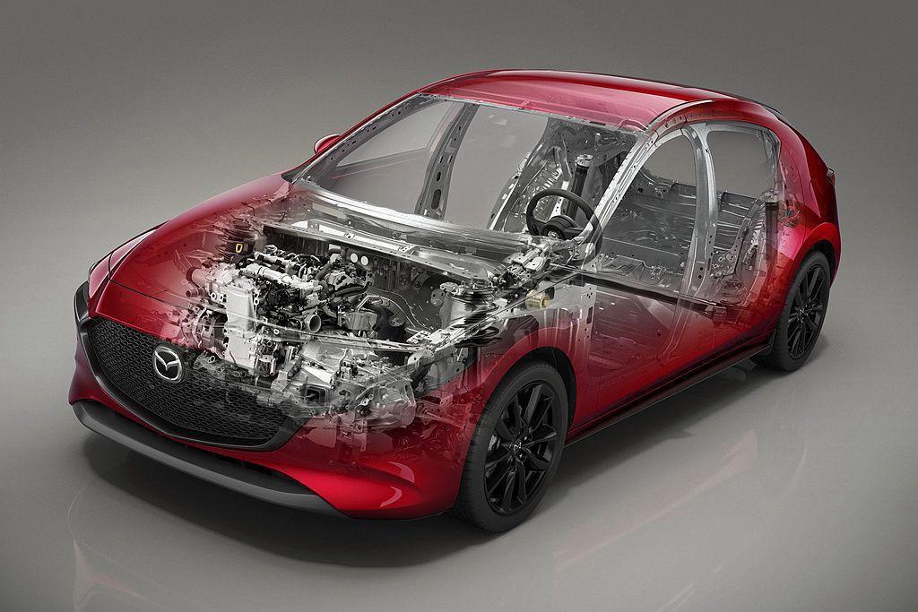 歐規Mazda3 Skyactiv-X引擎將Mazda M Hybrid輕度複合...