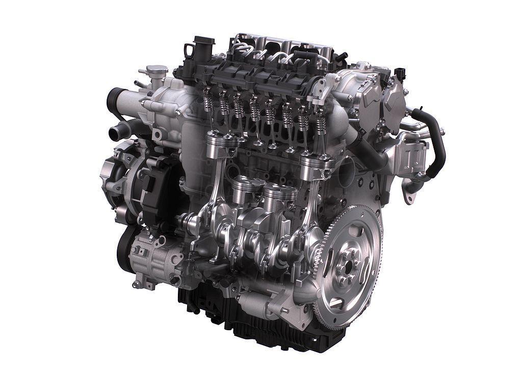 Mazda3 Skyactiv-X引擎採排氣量1,998c.c.、直列四缸、壓縮...