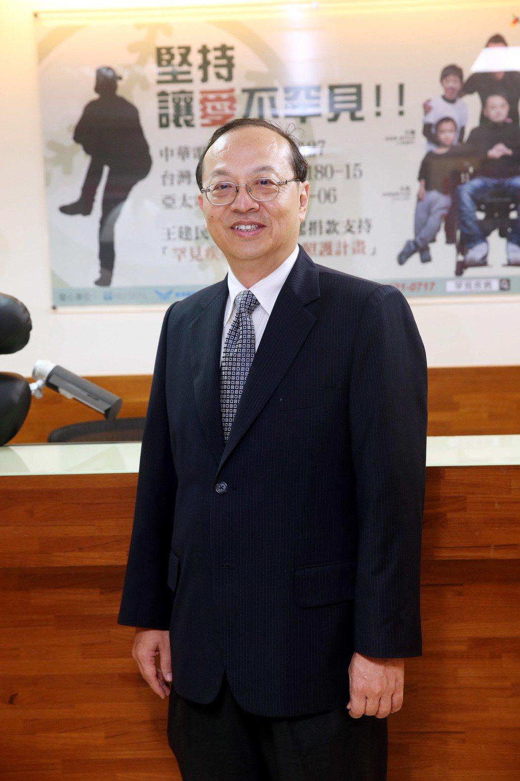 罕見疾病基金會共同創辦人曾敏傑,日前獲得「國際罕病英雄獎(Internation...