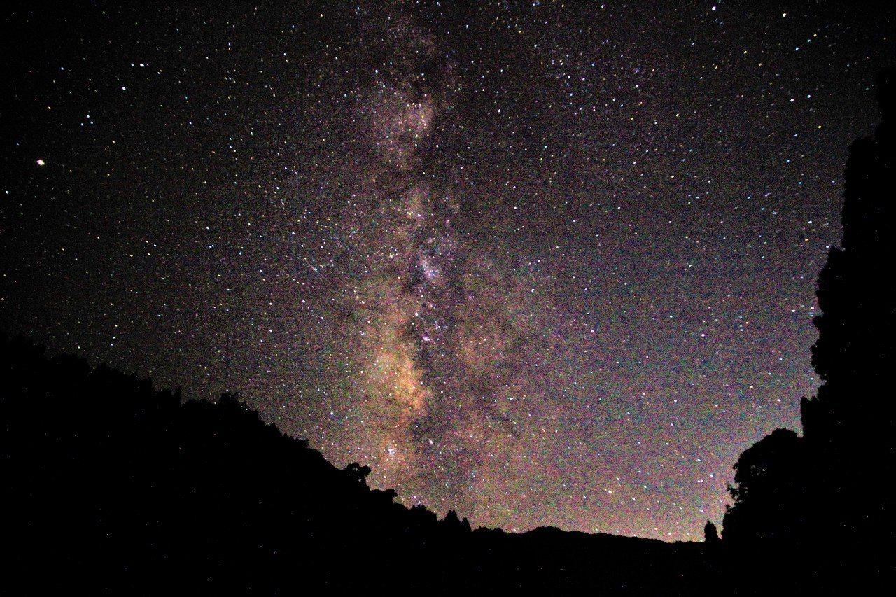 杉林溪完全無光害環境,今年被選為南投星空季最重要的賞星景點之一。圖/杉林溪森林園...