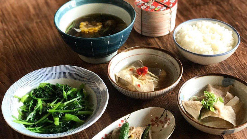 台南正興街內小滿食堂充滿古意的餐點,因小滿歇業吃不到。 圖/取自小滿食堂臉書