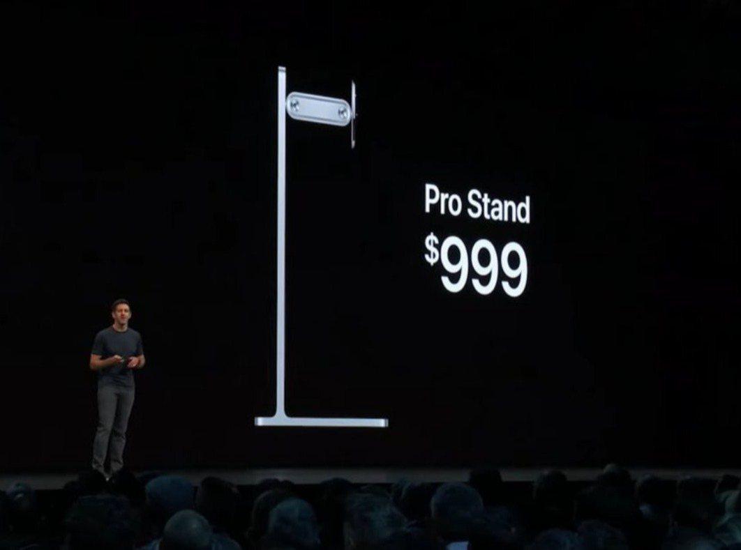 蘋果公司4日舉行全球開發者大會,公布可調整螢幕支架Pro Stand。蘋果宣布P...