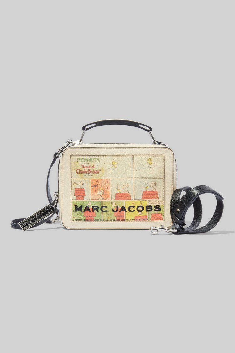 Peanuts x The Marc Jacobs系列The Box肩背包(大)...
