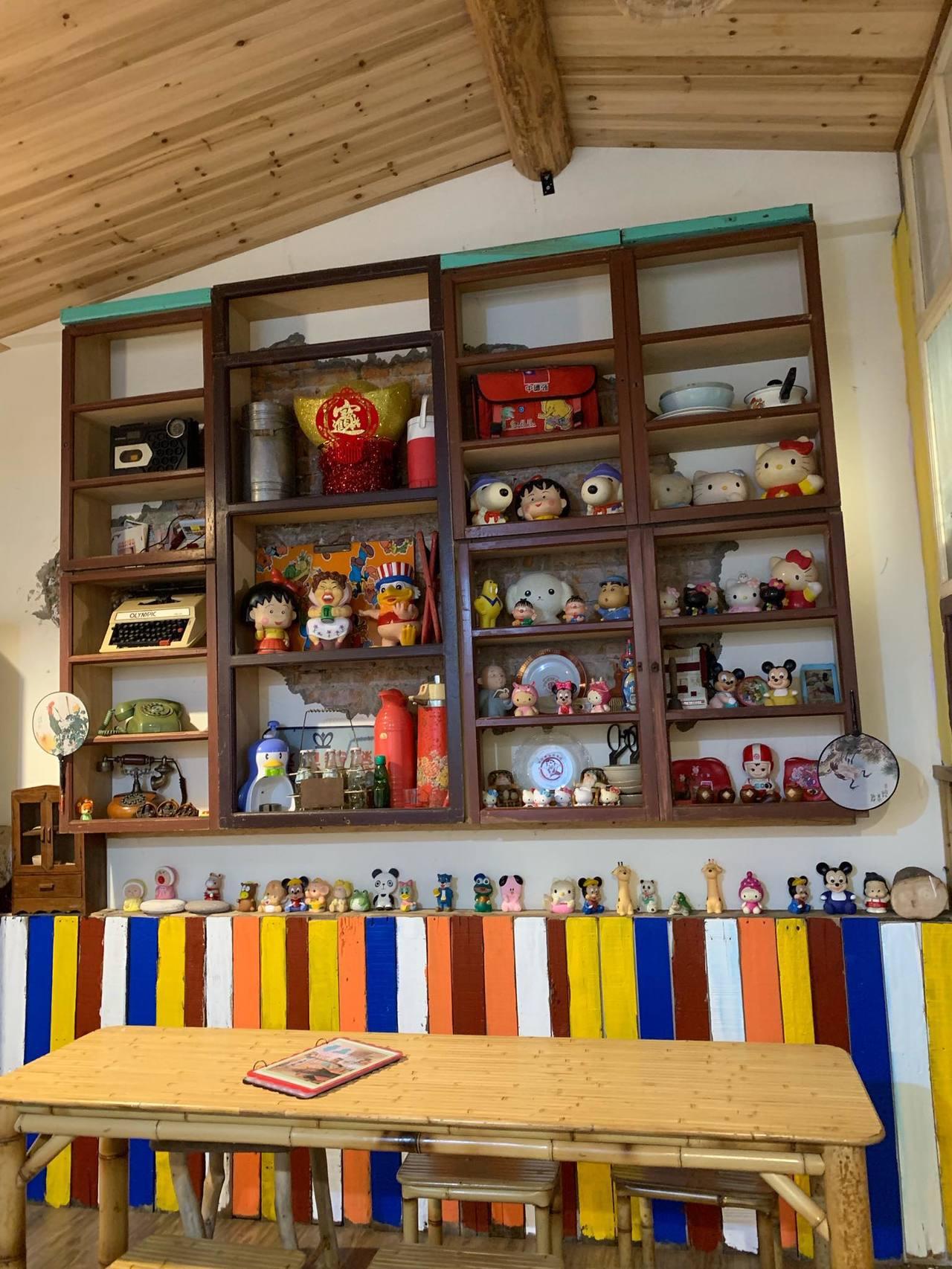 「尋庄懷舊冰店」充滿童趣。圖/尋庄懷舊冰店 提供