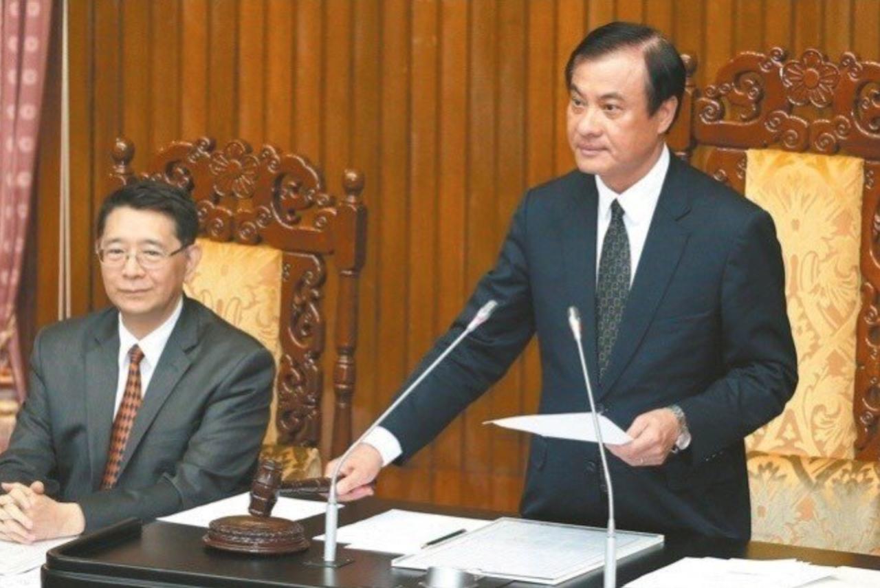 立法院長蘇嘉(圖右)。 聯合報系資料照/記者林伯東攝影
