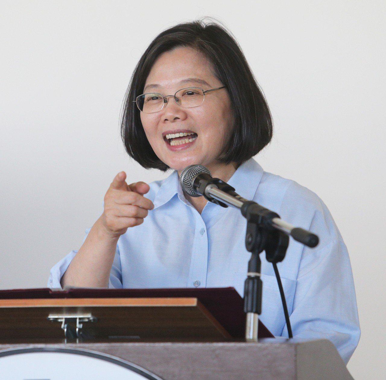 總統蔡英文。聯合報系記者劉學聖/攝影