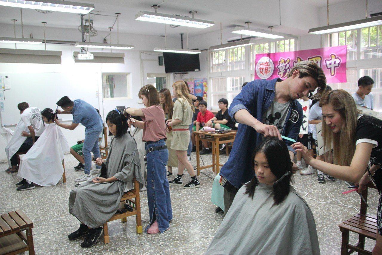 國中生號召捐髮助癌友 她已捐髮4次