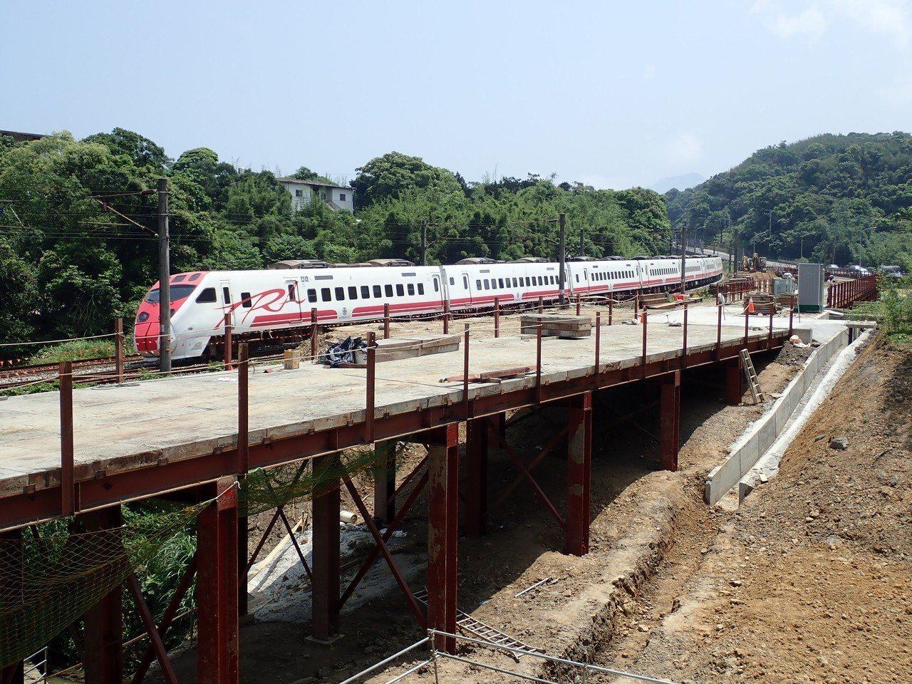 宜蘭線第三雙溪橋改建計畫。圖/生態工法基金會提供