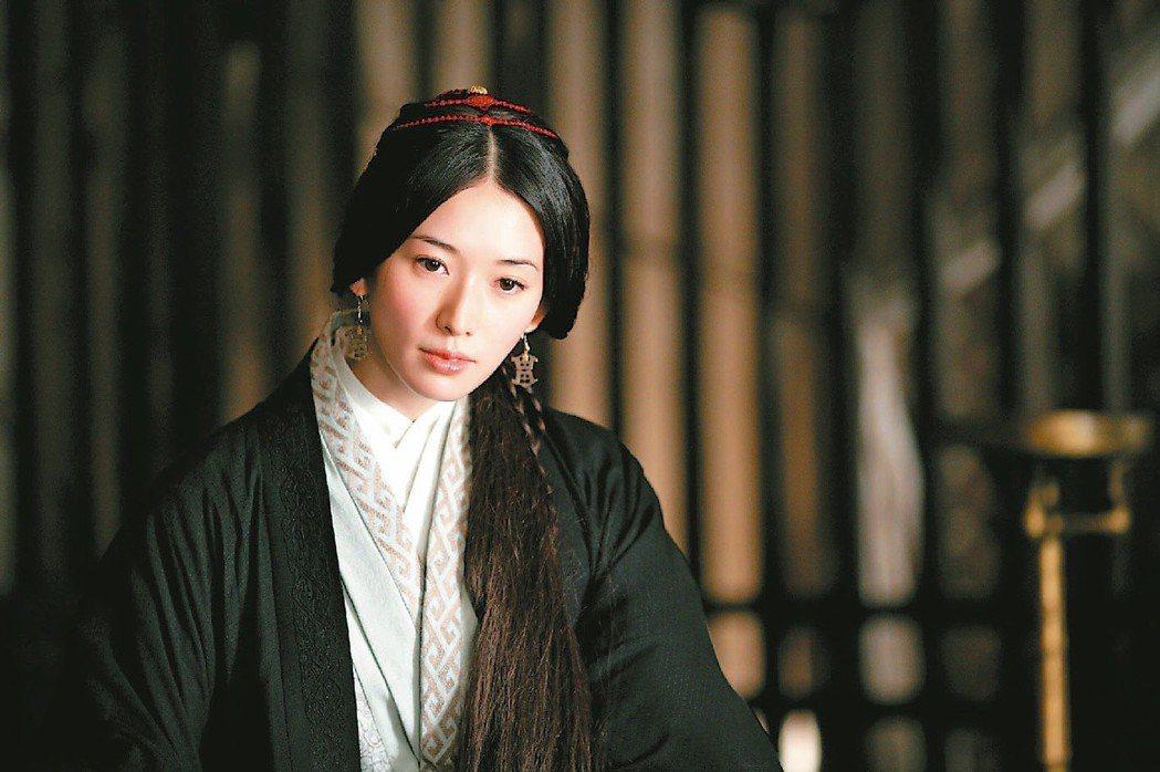林志玲因電影「赤壁」紅到日本。圖/報系資料照片