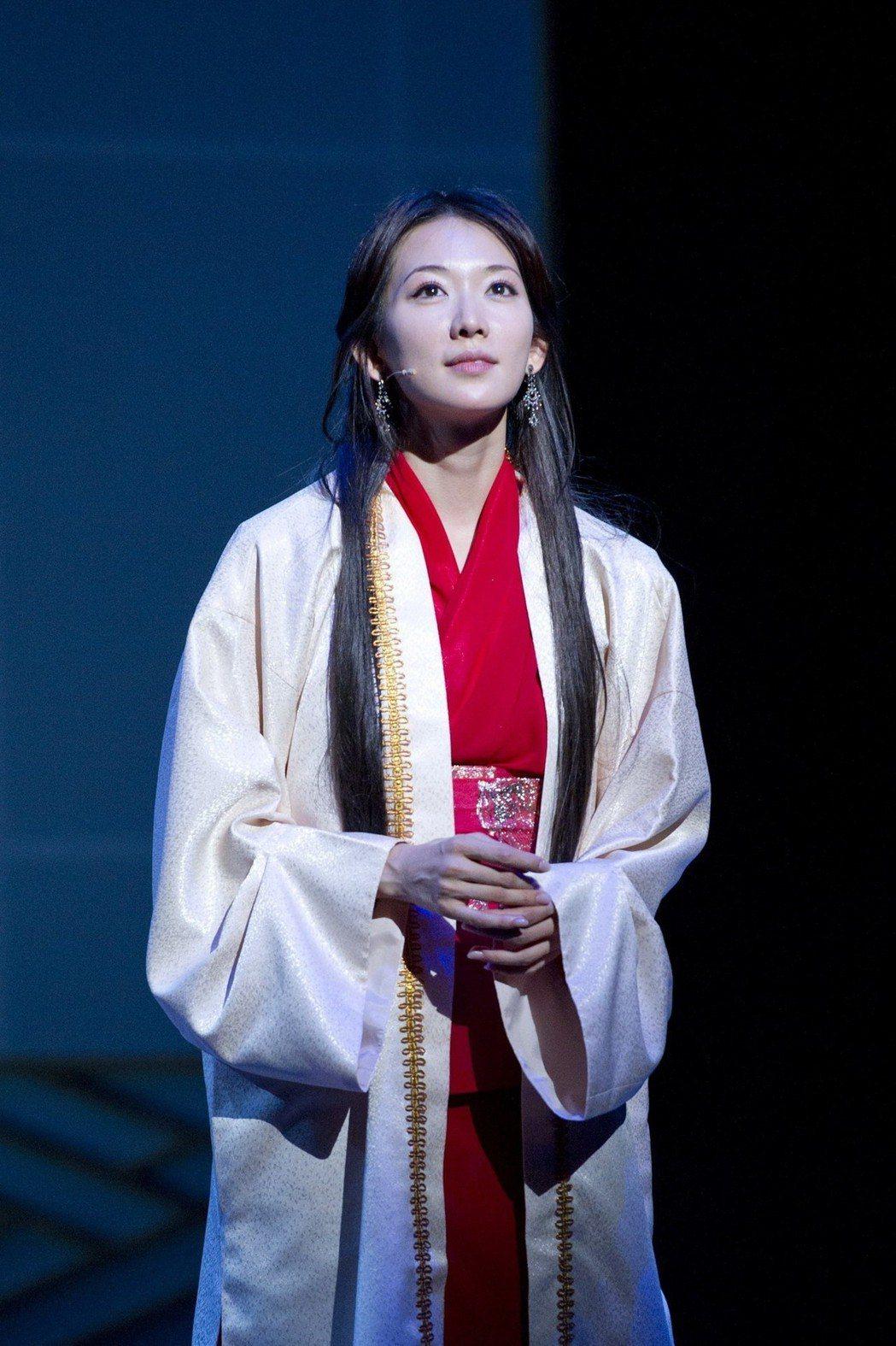 林志玲在「赤壁~愛~」再度扮演小喬,全程日語演出。圖/凱渥提供