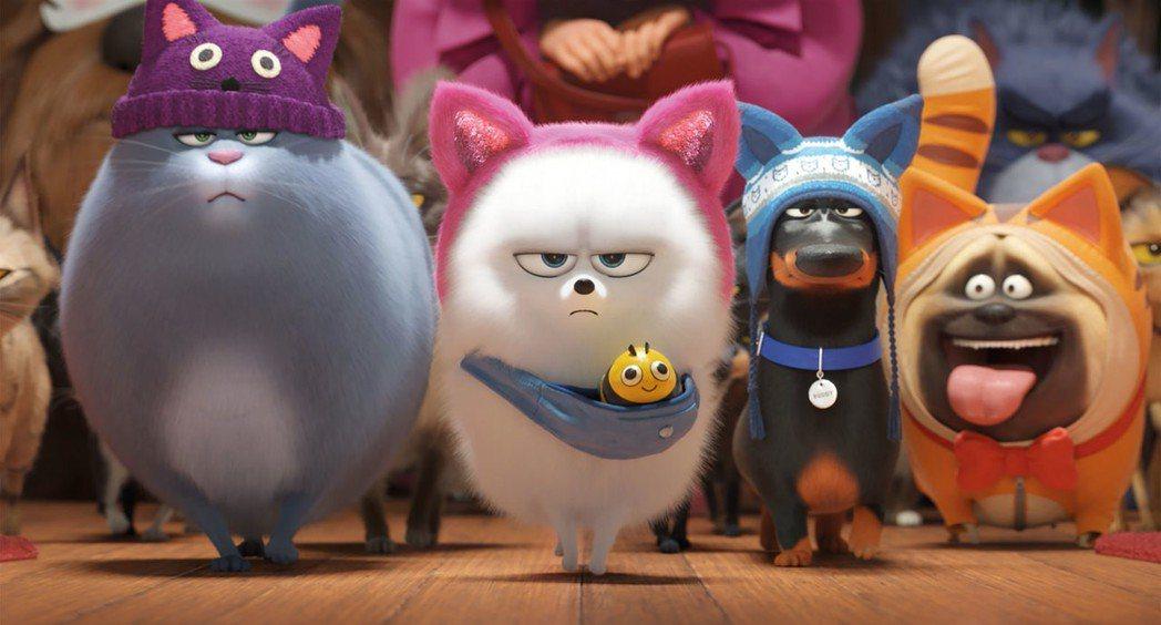 「寵物當家2」主角們又有新的冒險。圖/摘自imdb