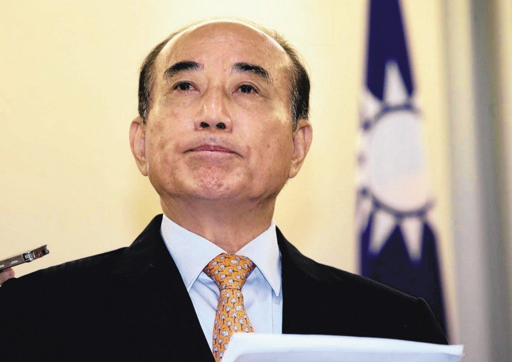 王金平投下震撼彈,宣布不參加國民黨內總統初選。記者曾學仁/攝影