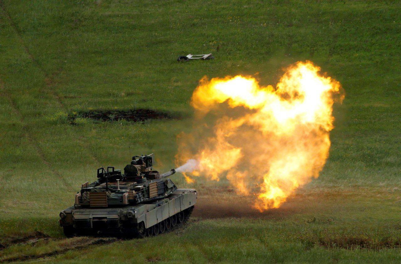 M1A2採購案對於自稱辣台妹的蔡英文總統,無疑是「美國挺我」的保證。 (路透)