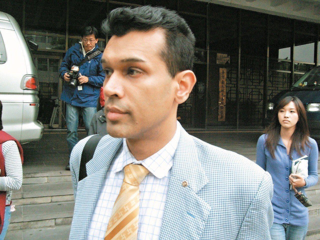 在台灣酒駕撞死孝子的英籍商人林克穎。圖/報系資料照片