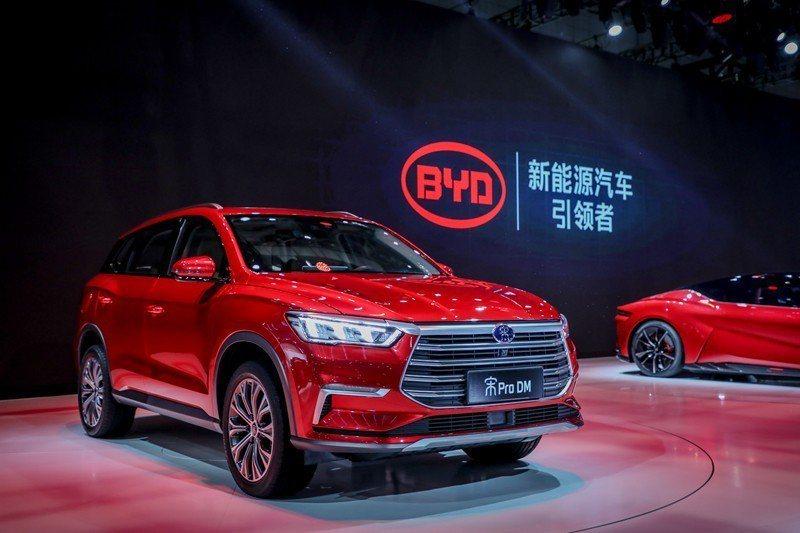 日本豐田汽車聯手中國比迪亞汽車進攻電動車市場。 摘自比迪亞