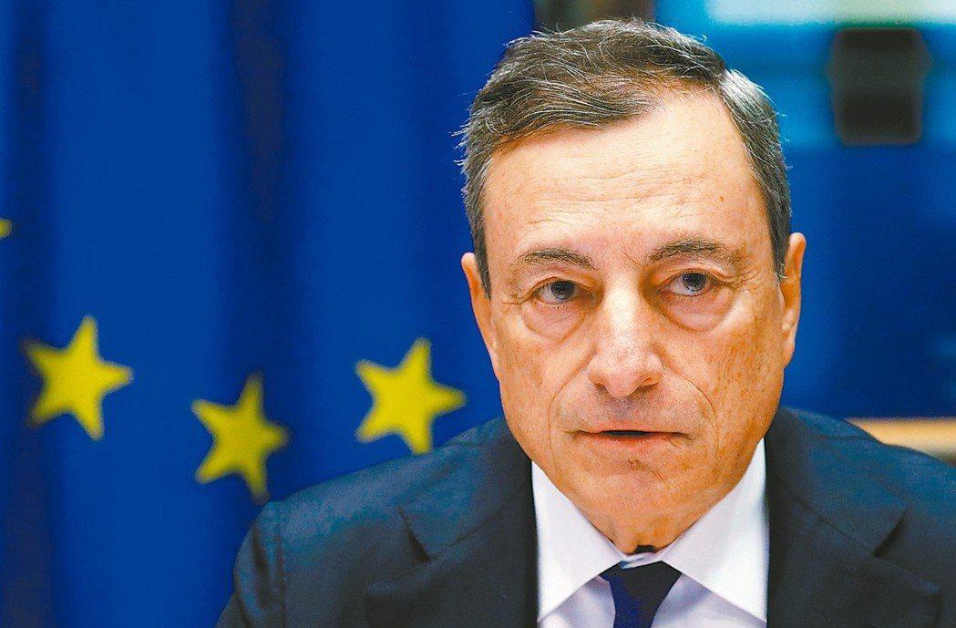ECB總裁德拉基發言傾向鴿派,將預期首次升息時間至少再延後六個月,卻降低ECB未...
