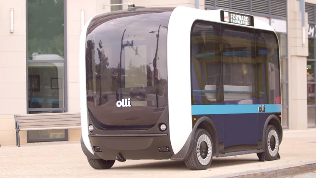首辆全自动驾驶接驳车将进维州 尖端科技服务阿灵顿