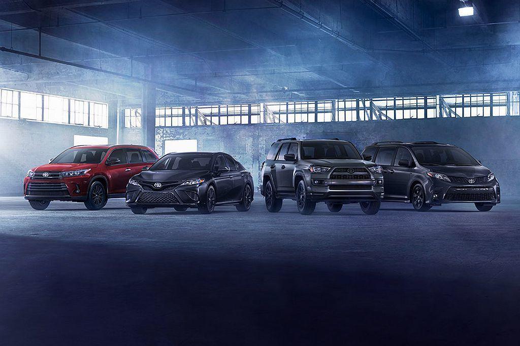 去年9月Toyota針對熱銷的4Runner推出Nightshade Speci...