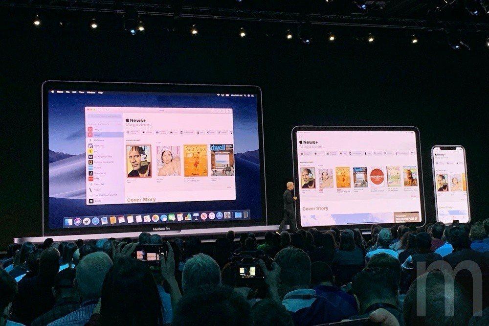 此次更強調app內容在不同裝置間互通使用特性