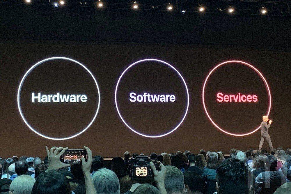 蘋果認為,硬體、軟體與服務缺一不可