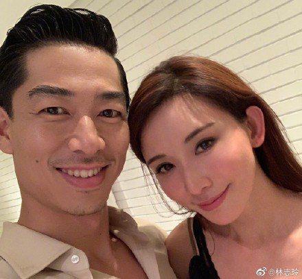 林志玲宣告與「放浪兄弟」AKIRA結婚。圖/摘自微博
