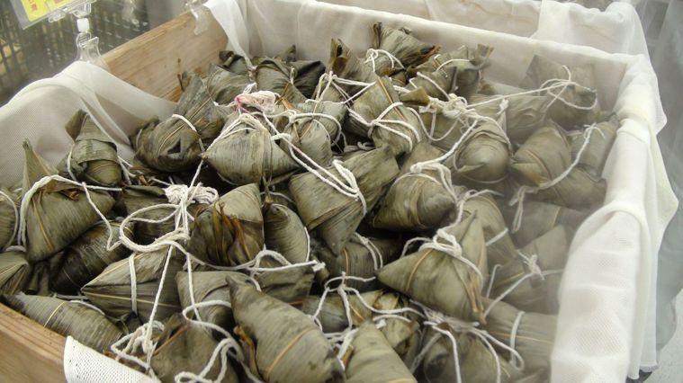 端午節到了,各式粽子上市。本報資料照片