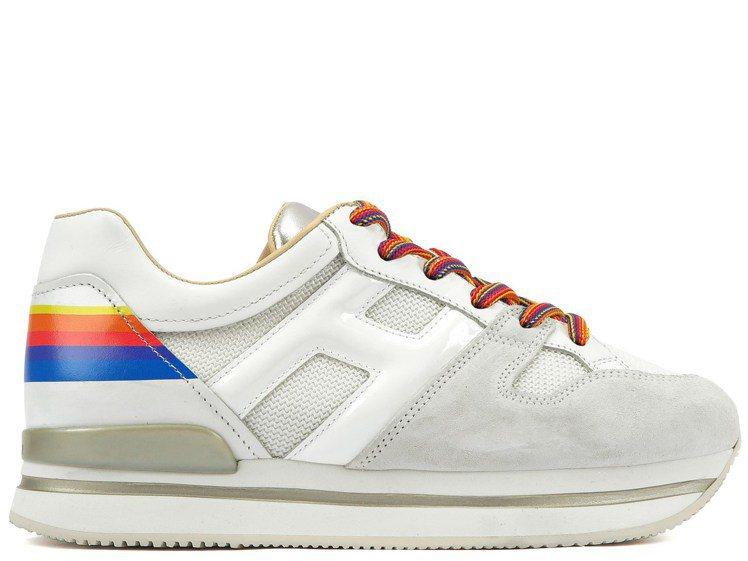 HOGAN H222彩虹女士休閒鞋,22,000元。圖/迪生提供