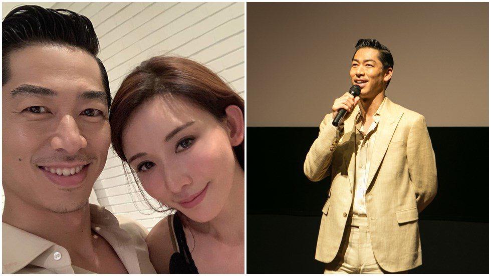 AKIRA於31日出席粉絲映後會,造型竟與認愛林志玲的衣服、髮型一模一樣。圖/亮