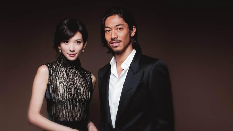 林志玲宣布閃婚AKIRA。 圖/LDH提供
