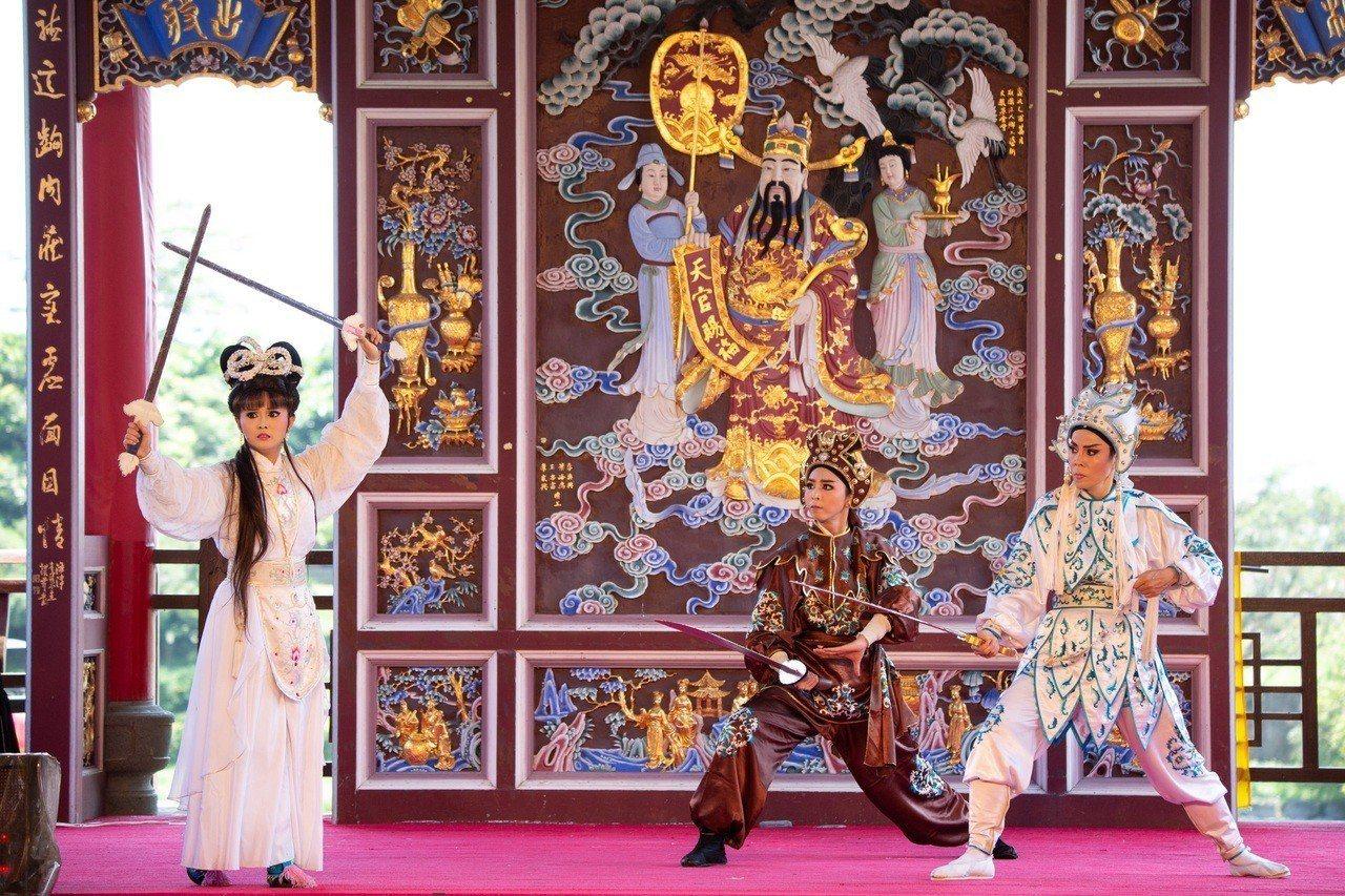 蘭陽戲劇團這個6月進駐傳藝宜蘭園區,連演1個月。圖/全聯善美的基金會提供