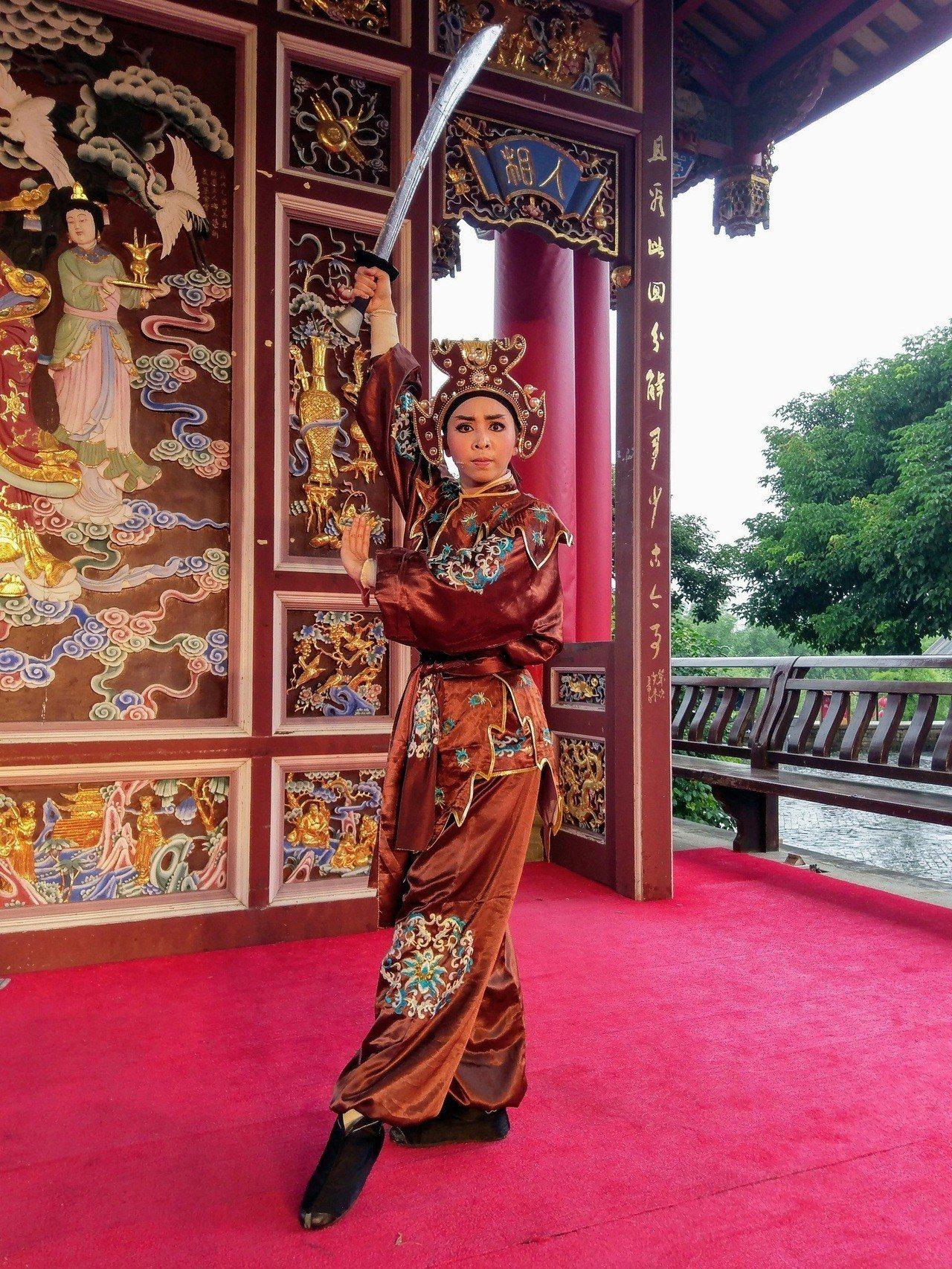 蘭陽戲劇團飾演「鹿童」的演員林湘敏。圖/全聯善美的基金會提供