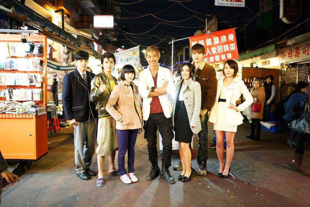 AKIRA來台拍攝「麻辣教師GTO台灣篇」。圖/八大供應