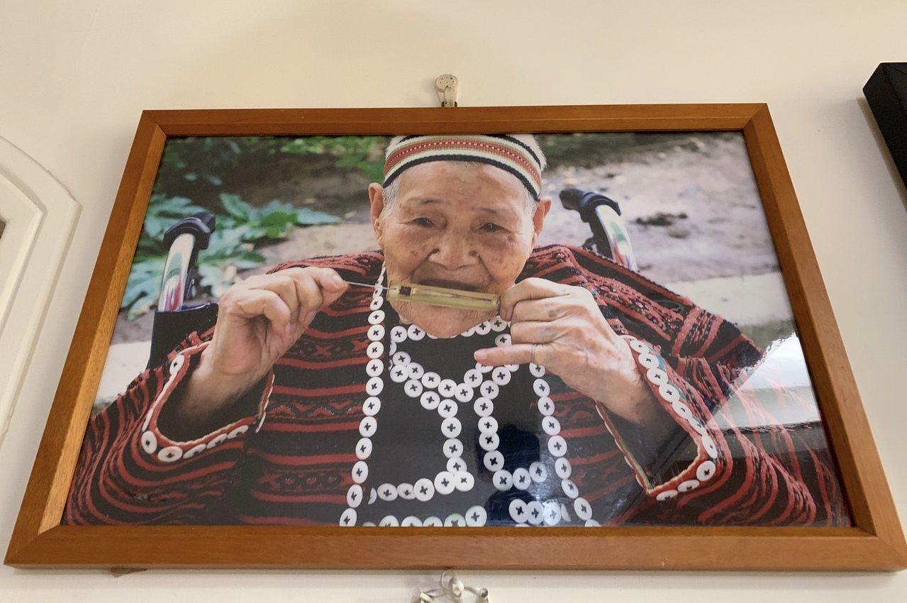 賽德克族人林智妹老年時的照片。記者魏翊庭/翻攝
