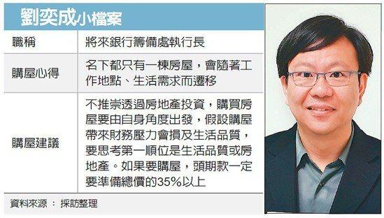 劉奕成小檔案 圖/經濟日報提供