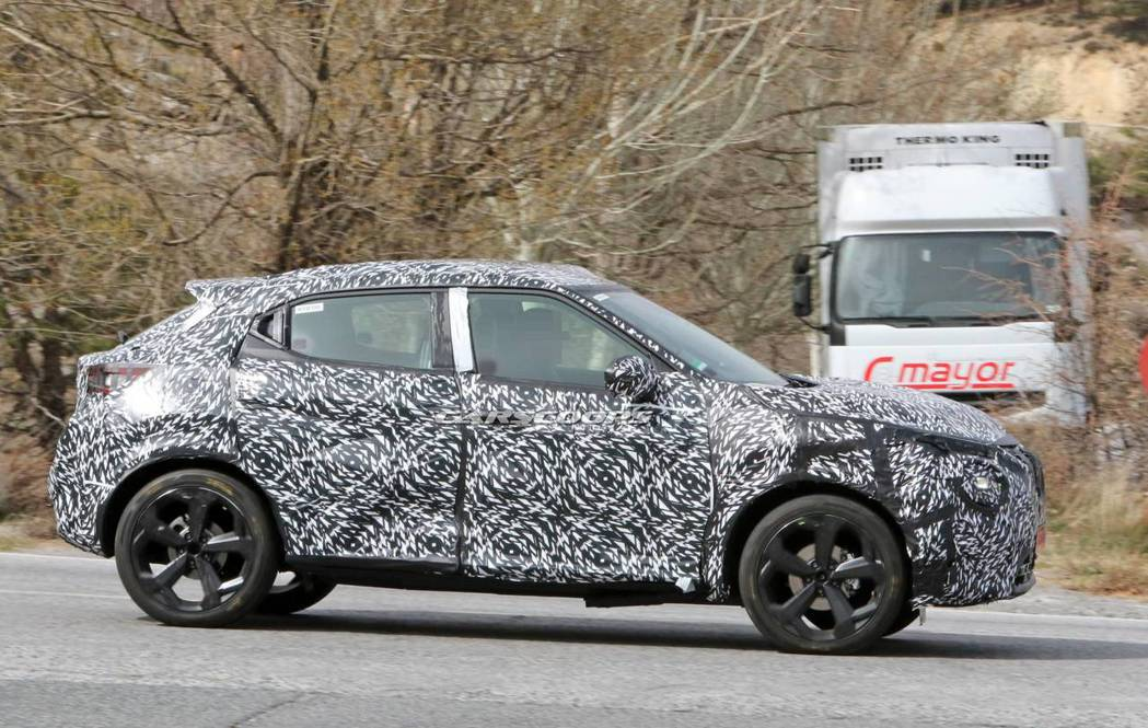 第二代Nissan Juke將會改進現行版為人詬病的乘坐空間。 摘自Carsco...