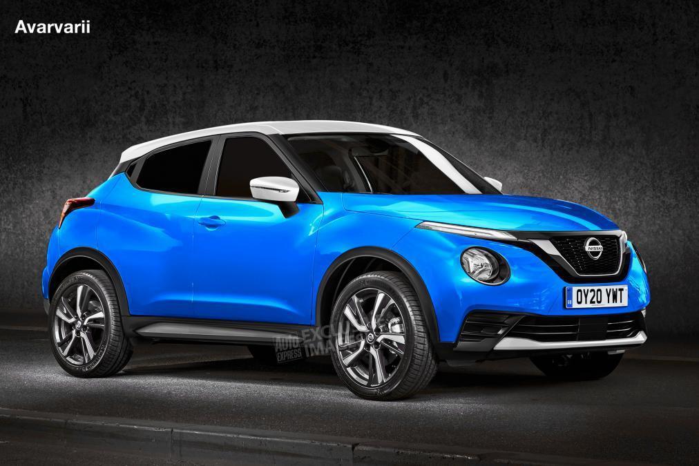 大改款Nissan Juke預想圖。 摘自AutoExpress