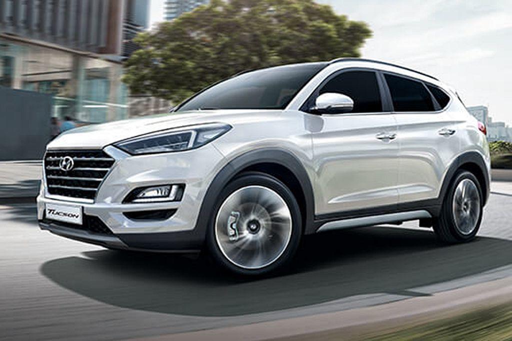 Hyundai Tucson:93.9萬起標配全速域SCC系統。 圖/Hyund...
