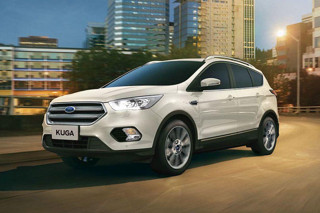 Ford Kuga:113.8萬配有ACC系統但無全速域。 圖/Ford提供