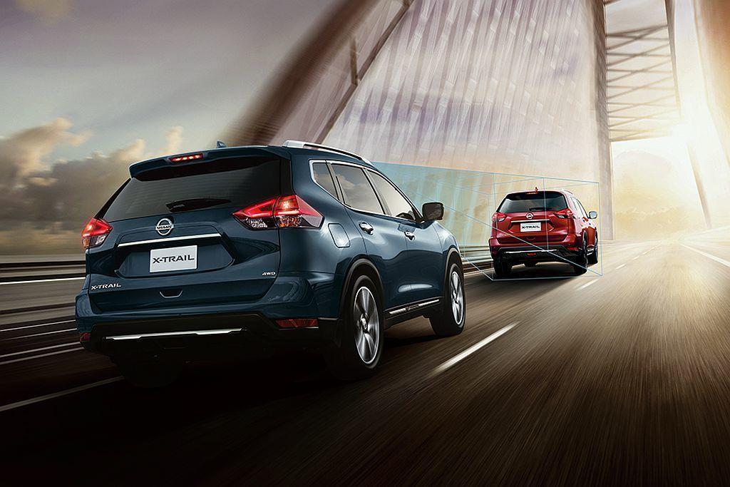Nissan X-Trail:104.9萬起配有ICC系統但無全速域。 圖/Ni...