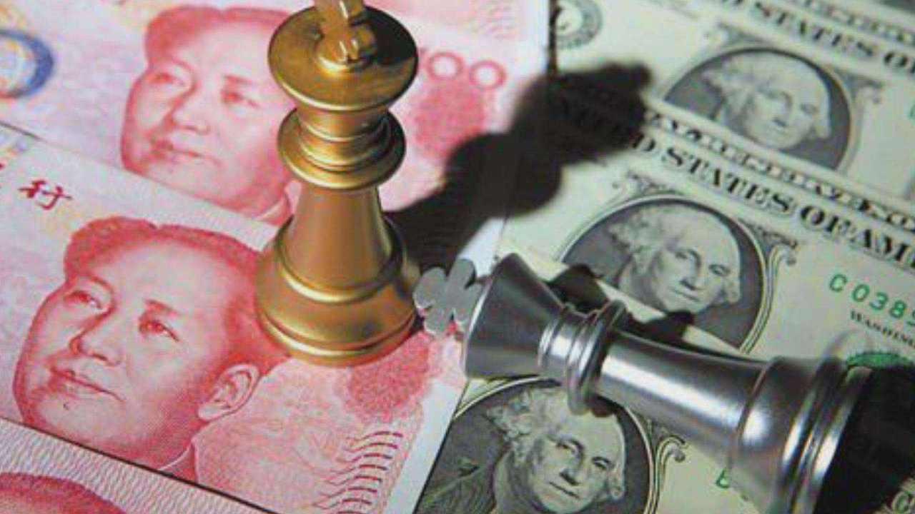 應對貿易戰升級,中國正悄然分散美元儲備投資。取自央廣網