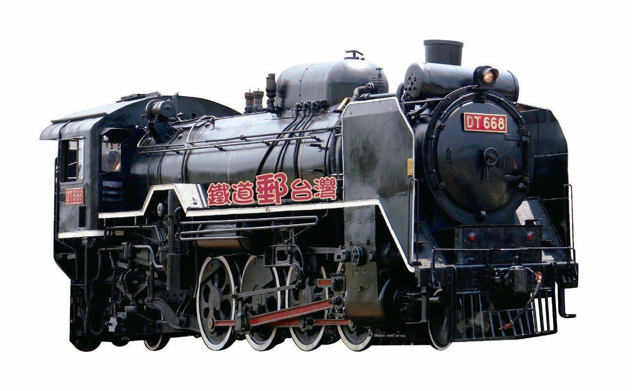 「鐵道郵台灣」有聲郵摺。圖/台鐵局提供