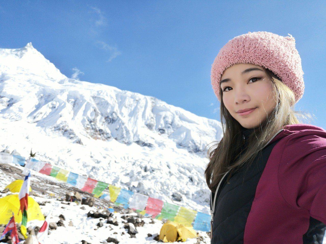 台灣女登山家詹喬愉。圖/詹喬愉提供