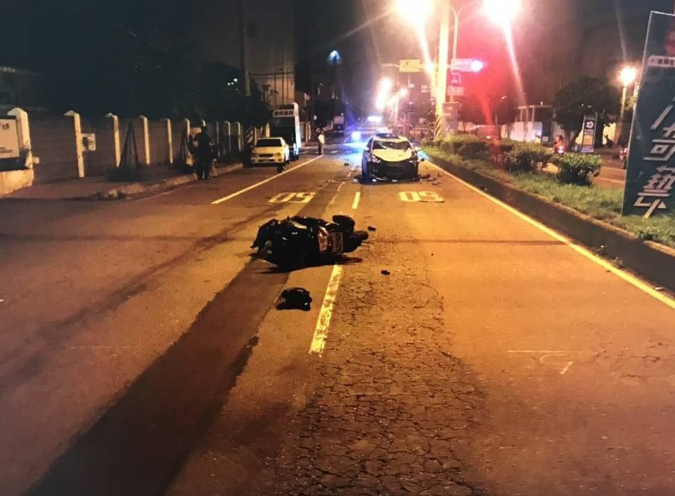 桃園市觀音區6月1日晚間一起酒後肇事車禍,造成夫妻一死一重傷,留下三個幼兒,文章...