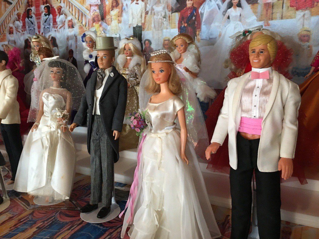 海口故事屋首展林國基蒐藏 一千多件芭比娃娃、玩偶
