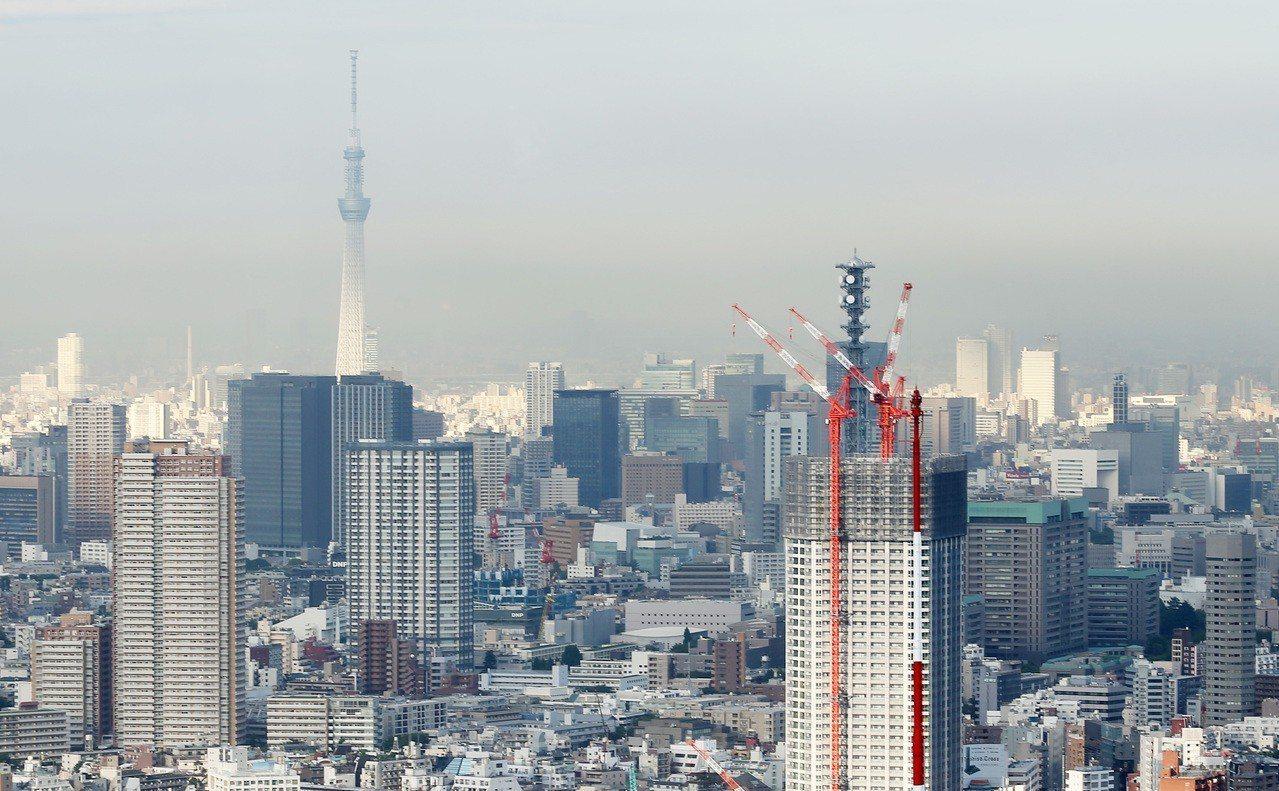 中國投資人前進東京房地產。(聯合報系資料照片)