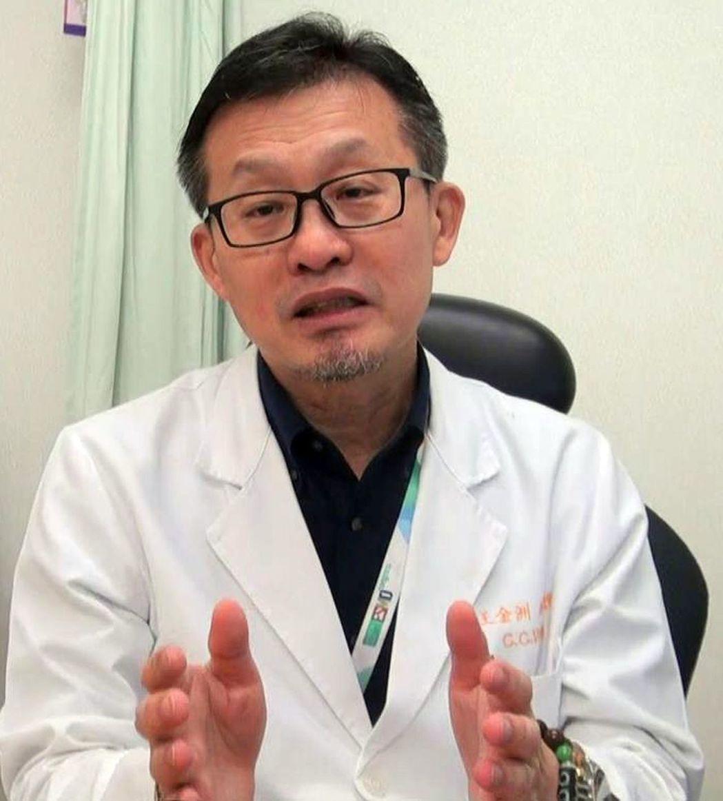 王金洲●高雄長庚肺癌團隊召集人 圖╱記者王昭月、李樹人