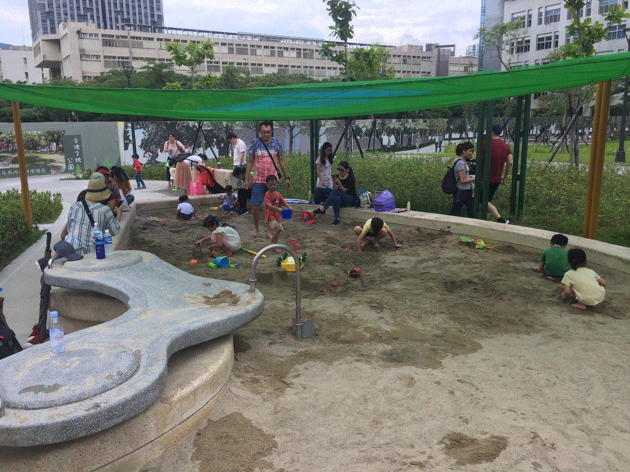 來這遛小孩╱北市大港墘公園 孩童體能訓練場